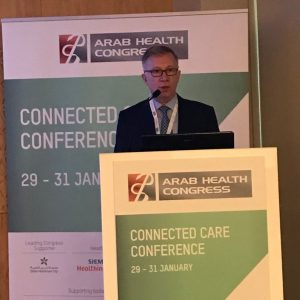 Dr. Sarper Tanli at Arab Health Congress