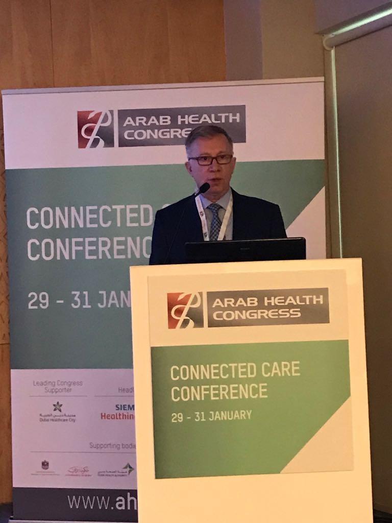 Dr. Sarper Tanli at Arab Health Congress