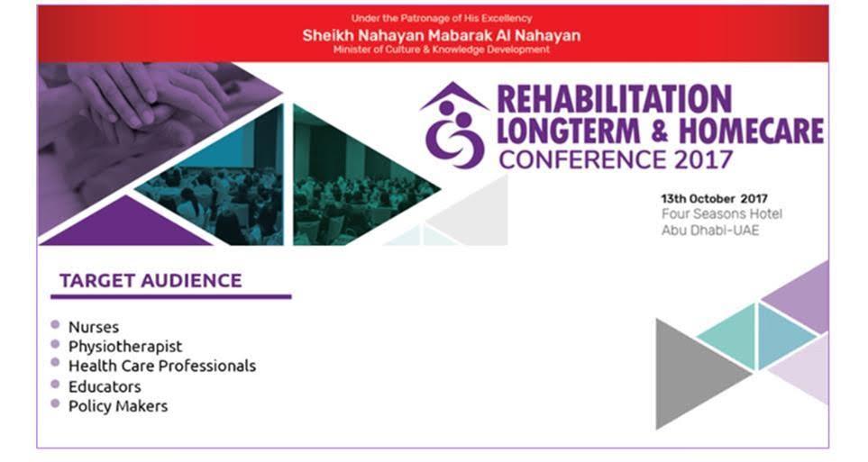 Rehabilitation LongTerm & HomeCare Conference 2017