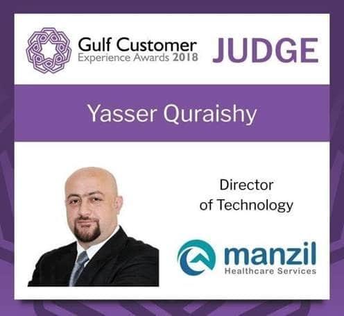 Yasser Quraishy Badge
