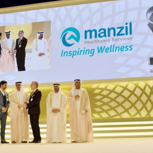 Manzil Health wins Sheikh Khalifa Excellence Award
