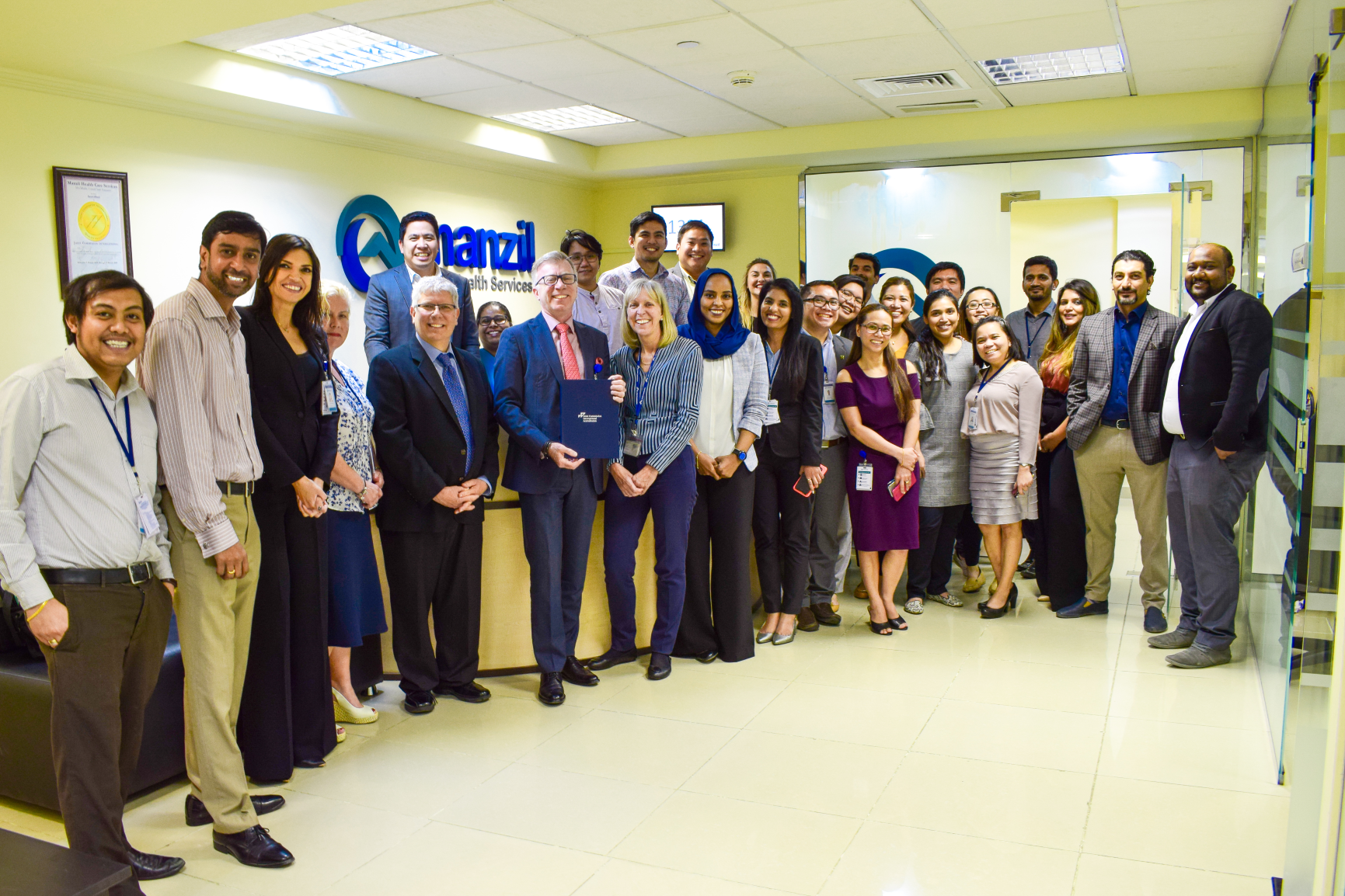 Manzil Health becomes first company to renew JCI accreditation